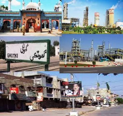 District Ghotki, The Historical City