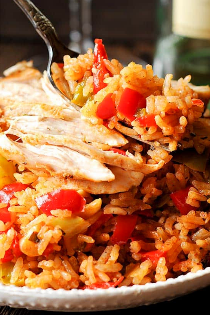 Cajun Instant Pot Chicken and Rice
