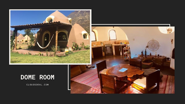 dome room in the sacred valley peru