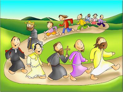 Resultado de imagen de dibujo de fano sobre el evangelio yo soy el camino, la veredad y la vida