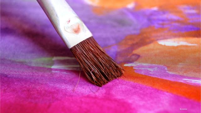 la joie l'espérance à travers une peinture en couleur
