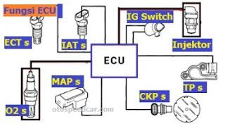 Fungsi Electronic Control Unit