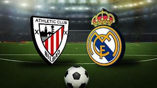 موعد مباراة ريال مدريد وأتلتيك بلباو في الدوري الاسباني 05-07-2020  ريال مدريد ضد أتلتيك بلباو