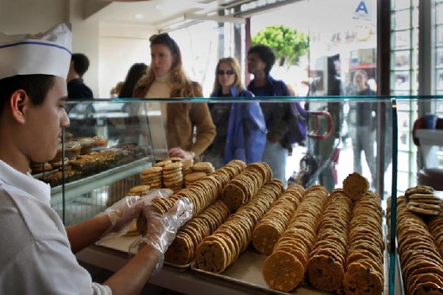 Loja de cookies Diddy Riese em Los Angeles