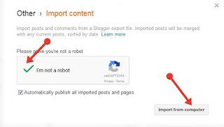 Wordpress Blog to Blogger Blog पर Transfer (Import) कैसे करे