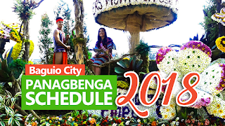 Panagbenga 2018 Schedule, Baguio Flower Festival