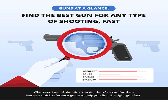 Guns at a Glance: Find the Best Gun for Any Type of Shooting, Fast!