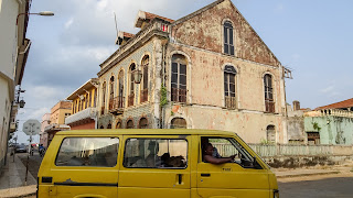 Colonial Architecture in Sao Tome