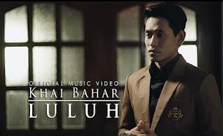 Lirik : Khai Bahar - Luluh