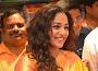 Gorgeous Nitya Menon at Kalamandir event