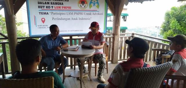 Fokus Terhadap Perlindungan Anak, PMPRI Diskusi Bersama P2TP2A