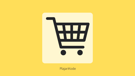 Cara membuat shopping cart dengan PHP, Bootstrap dan MySQL