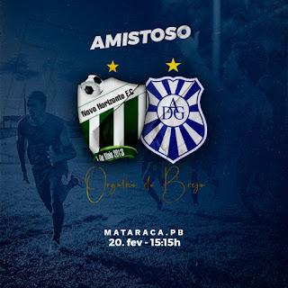 Visando o campeonato paraibano, desportiva Guarabira enfrenta o time do Novo Horisonte na fase preparatória  para o campeonato neste sábado.