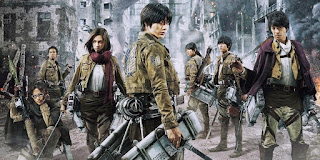 Download Film Attack on Titan Part 1 (2015) 720p HDRip Subtitle Indonesia