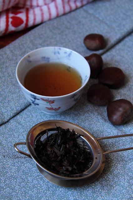 Biscotti di farina integrale al tè nero Grand Lapsang Souchong