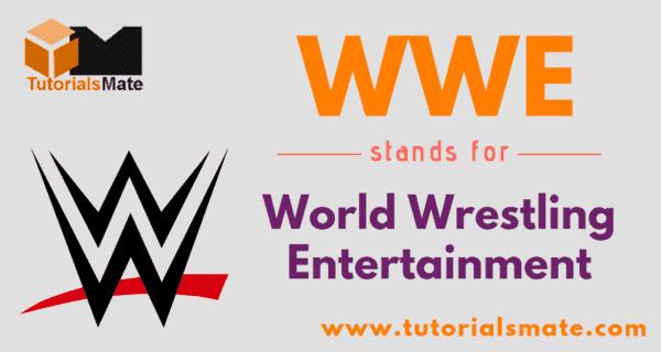 WWE Full Form