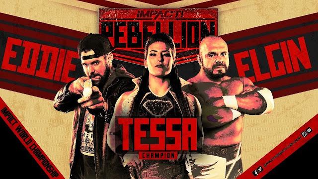 Rebellion será dividido em duas noites no IMPACT Wrestling