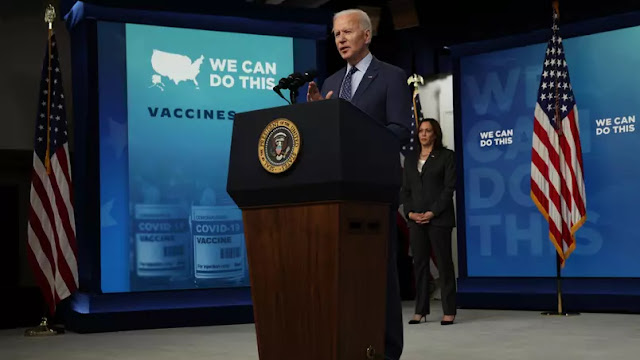 Biden anuncia doação global de vacinas, o Brasil também receberá doses