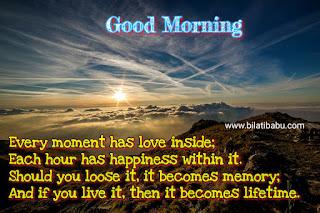 Good morning status in English, good morning status in odia