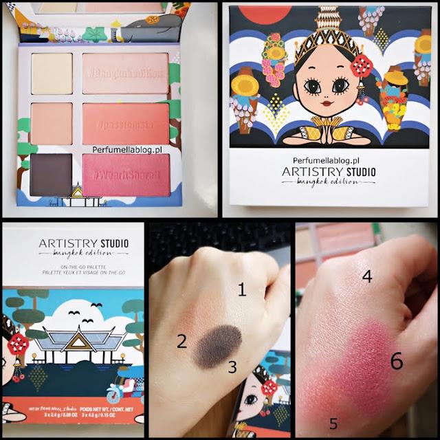 recenzja artistry studio bangkok edition paleta
