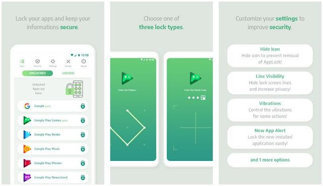 Aplikasi Pengunci Aplikasi Ringan