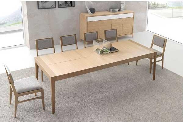 Arte h bitat tu tienda de muebles comedor optimum 16 de for Muebles nogal yecla