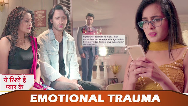 Abeer and Mishti's painful break up refuse to reconcile relationship in YRHPK