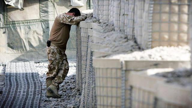 Se registra alarmante cifra de suicidios entre soldados británicos