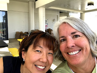 Photo of Dr. Tricia Hyun and Judy Blakeney