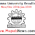 Anna University Results Nov Dec 2018 date @ annauniv.edu.in