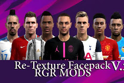 Re-Texture Facepack 2020 V2 - PES 2013