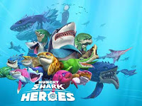 Download Hungry Shark Heroes 1.2 Apk + Data for Android