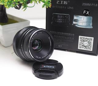 Lensa 7Artisans 25mm f1.8 for Fujifilm