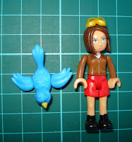 Ava doll and Jay bird figures