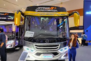 Karoseri Adiputro Pamerkan Medium Bus Voyager Terbaru Di GIICOMVEC 2020