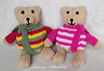 Teddybär für Jungen und Mädchen stricken