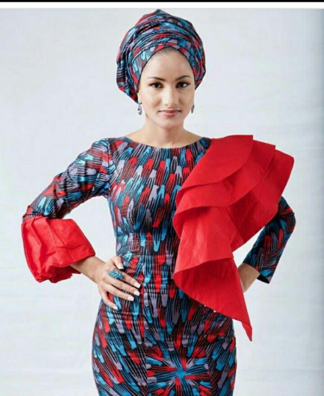 ankara style for hausa women