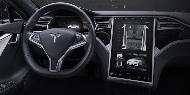 Electric Car Tesla Model S to Compete with Sport Car