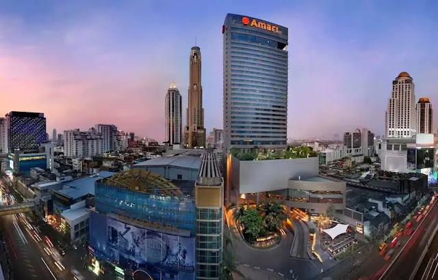 Amari Watergate Hotel Bangkok Thailand hotels