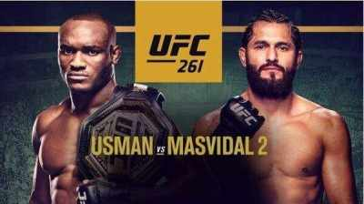 Watch UFC 261 PPV: Usman Vs Masvidal 2 PPV 4/24/2021 Live Stream