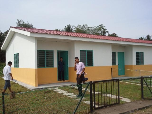Rumah Teres Gual Periok Rantau Panjang Kelantan