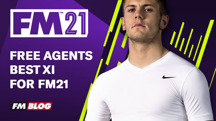 Free Agents Best XI for Football Manager 2021
