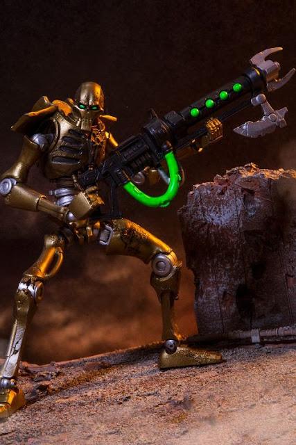 McFarlane Toys' Warhammer 40,000 Necron Warrior