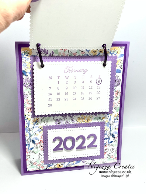 Come Crafting With Jill & Gez Facebook Live: Making A Desk Top Calendar