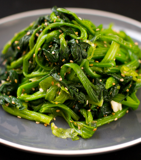 KOREAN SPINACH SALAD RECIPE #spinach #vegetarian #breakfast #food #salad
