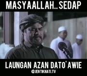 Dato Awie Melaungkan Azan