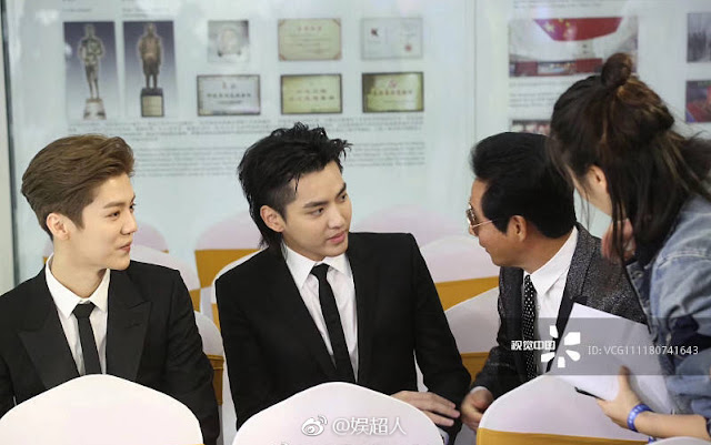 Luhan Kris Wu 17th Huabiao Awards