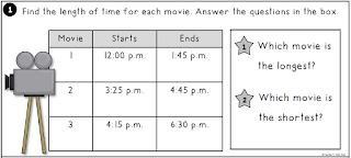 Elapsed TIme Task Card Center 1