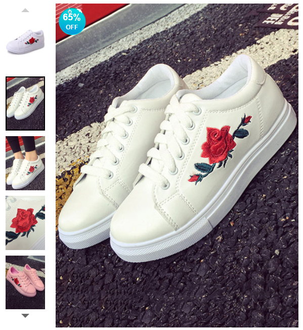 https://www.berrylook.com/en/Products/embossed-floral-flat-faux-leather-round-toe-casual-cycle-sneakers-193707.html?color=white