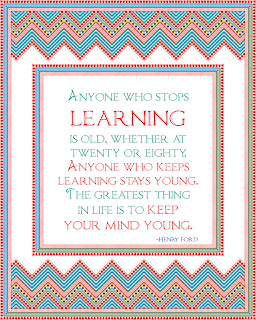 printable learning quote